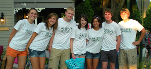 Members of the Zionsville Student Rights Union, based out of Zionsville, Indiana.